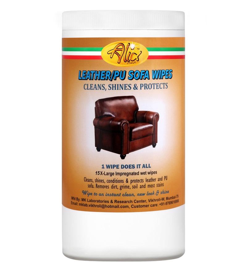 Alix Leather & Pu Sofa Wipes