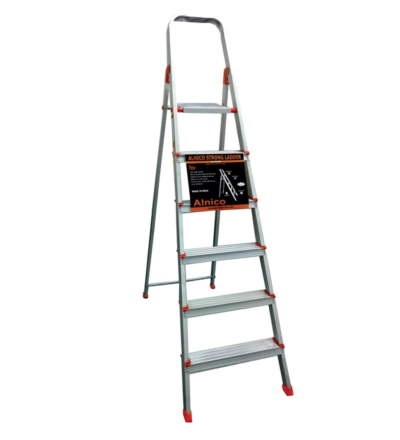 Alnico Aluminium 6 Steps 6.3 FT Ladder