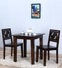 Alder Two Seater Dining Set in Warm Chestnut Finish by Woodsworth