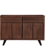 Tiber Sideboard in Premium Acacia Finish by Woodsworth