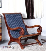 Amherst Arm Chair in Honey Oak Finish