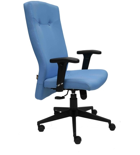 a5993d87483 Buy Amaze High Back Executive Chair in Blue Colour by Starshine Online -  Executive Chairs - Chairs - Pepperfry
