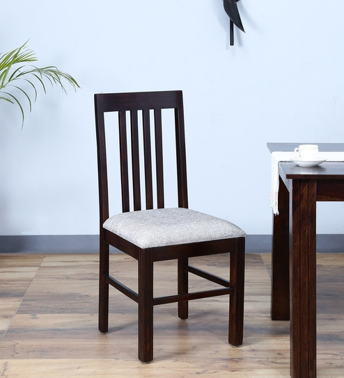 Amery Dining Chair In Warm Chestnut Finish By Woodsworth