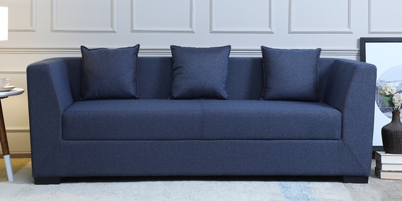 Groovy Amida 3 Seater Sofa In Blue Colour By Mintwud Gmtry Best Dining Table And Chair Ideas Images Gmtryco