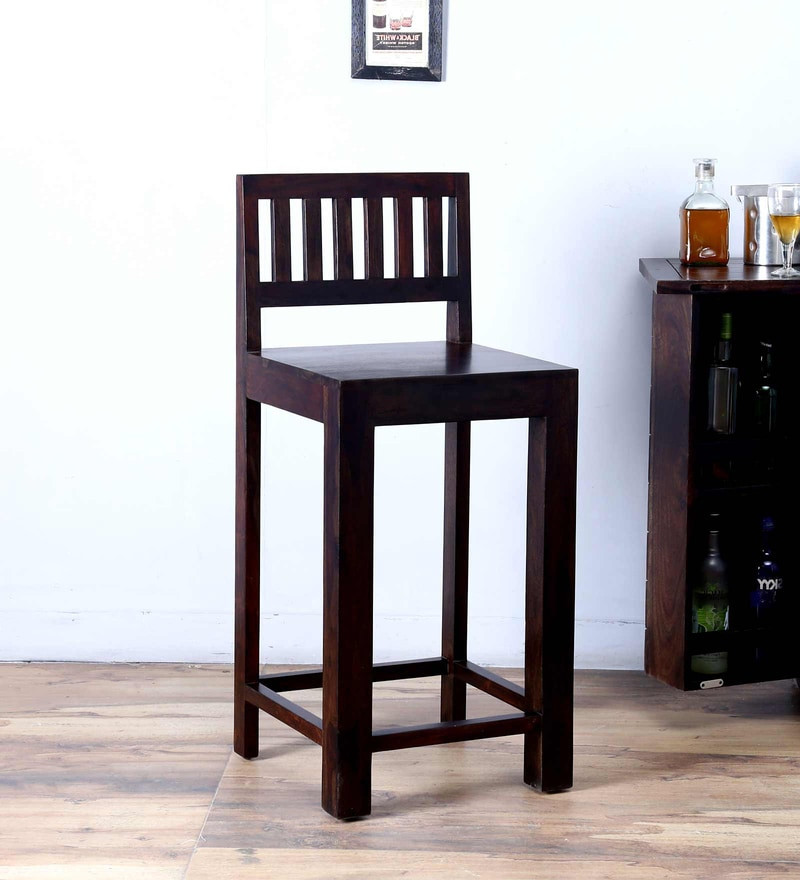 Amarillo Bar Chair in Warm Chestnut Finish by Woodsworth