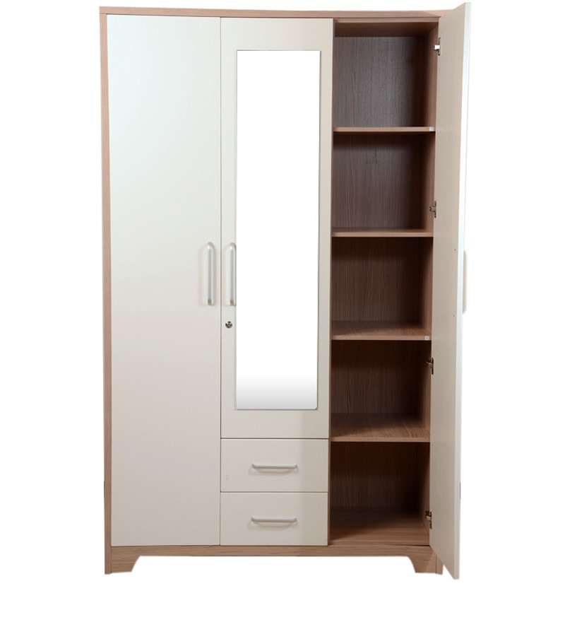 how to gloss kitchen cabinets buy ambra three door with mirror in white finish 17005