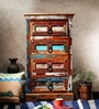 Amerie Chest of Drawers in Distress Finish by Bohemiana