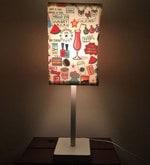 Multicolour Fabric Table Lamp