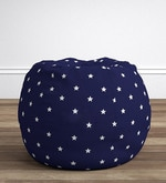 Anywhere Kids' Bean Bag Cover Only in Starry Blue