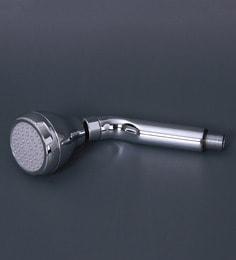 Ankur Bathfitt Lovely Silver Abs & Steel 9 X 9 Inch Overhead Shower With Shower Arm (Model: Vsh 5004)
