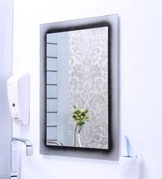 Buy Ankur Bathfit Texture Silver Bathroom Mirror Online
