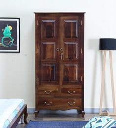 Anne Wardrobe In Provincial Teak Finish