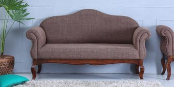 Anne Two Seater Sofa In Provincial Teak Finish