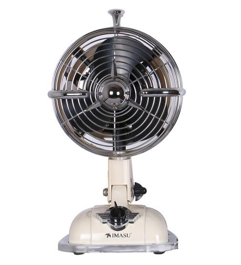 Anemos Mini Jet Milky Designer 177 Mm Ivory Table Fan