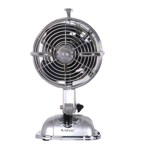 Anemos Mini Jet Milky Designer 177 Mm Sonic Silver Table Fan
