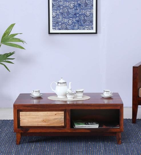 Anitz Coffee Table In Dual Tone Finish
