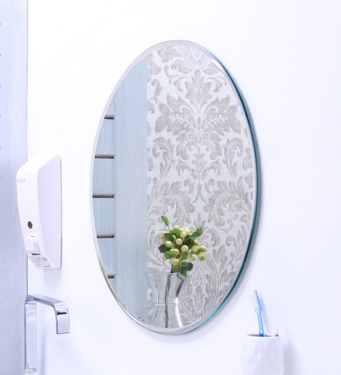 Ankur Bathfit Plain Bevelled Bathroom Mirror