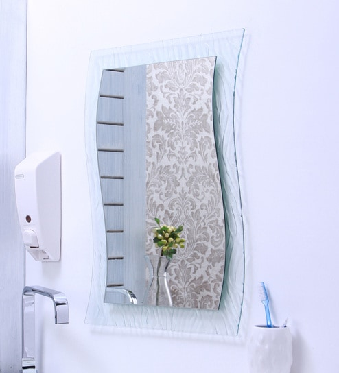 Ankur Bathfit Figure Glass Bathroom Mirror