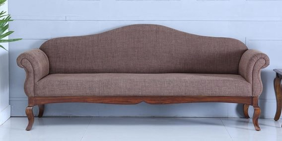 Anne Three Seater Sofa in Provincial Teak Finish by Amberville