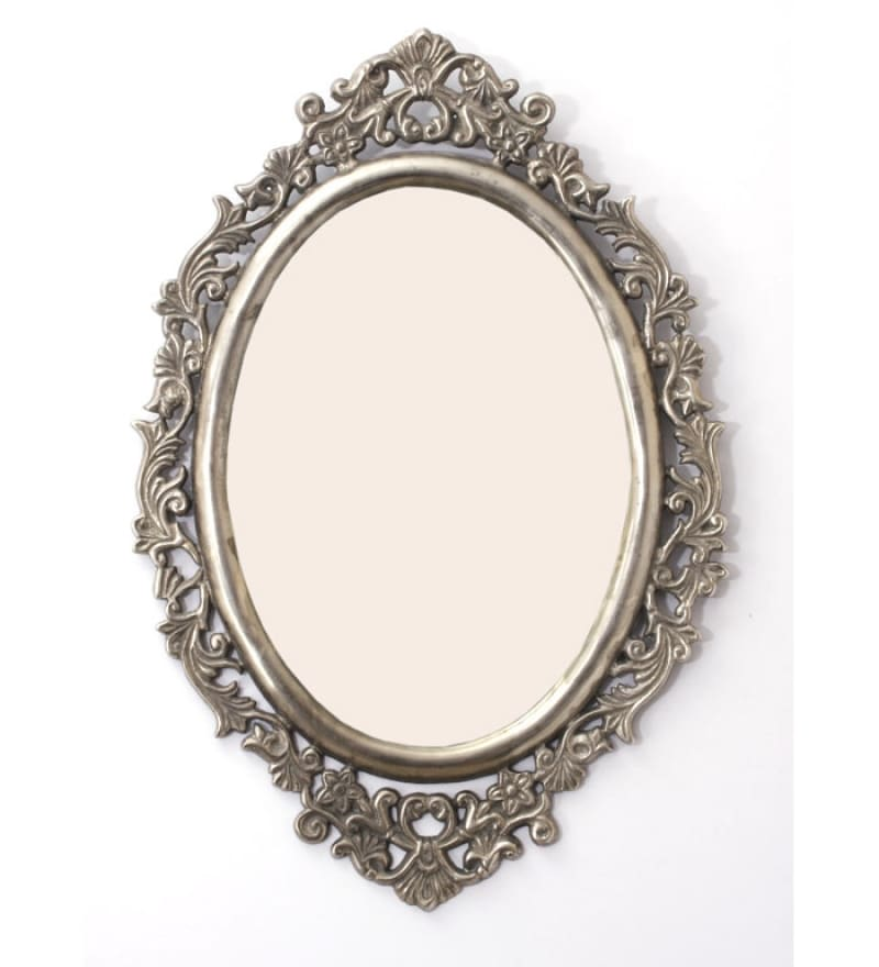 Buy Goyal India Antique Oval Mirror Frame Online