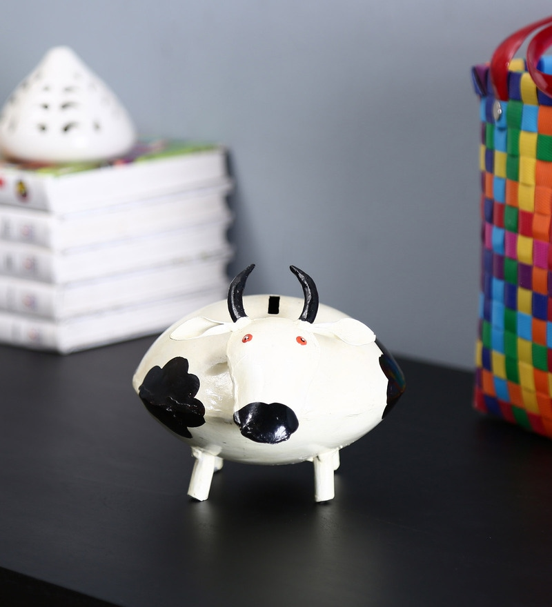 Multicolour Iron Money Bank by Craftpreneurs India