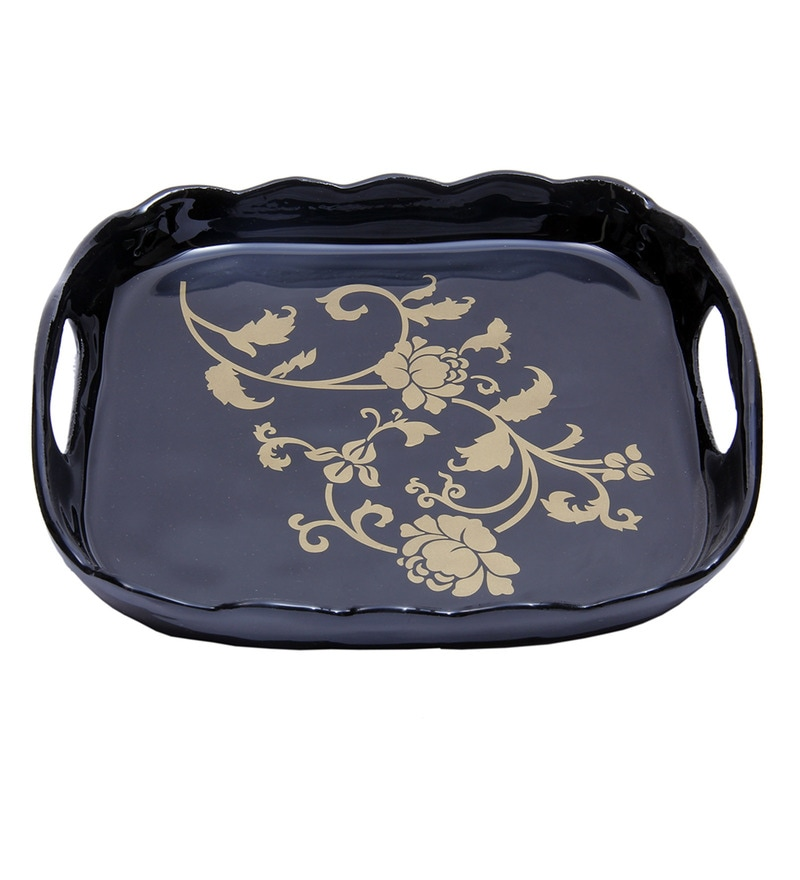 Anasa Decorative Metal Serving Tray
