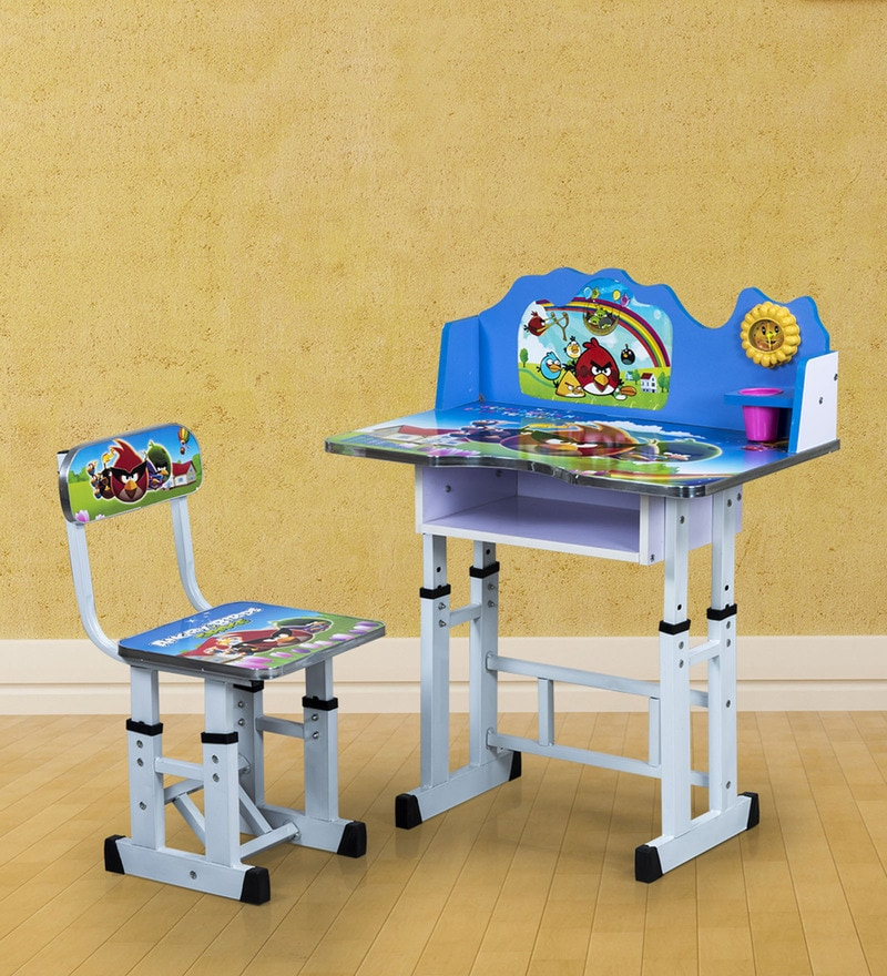 Buy Angry Bird Study Desk Amp Chair Set By Royal Oak Online