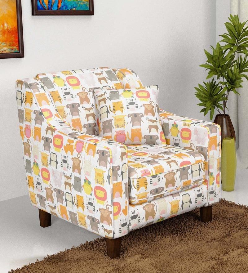 Animal Print Lounge Chair By Fizdi