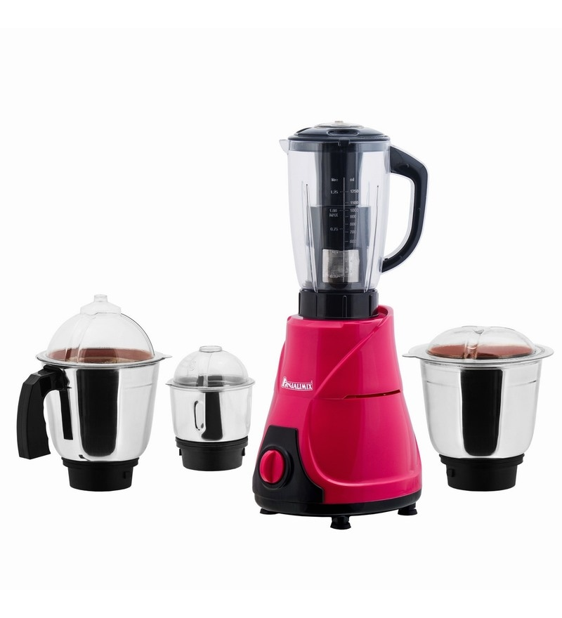 Anjalimix Mojo Mixer Grinder with 4 Jar 600 Watts