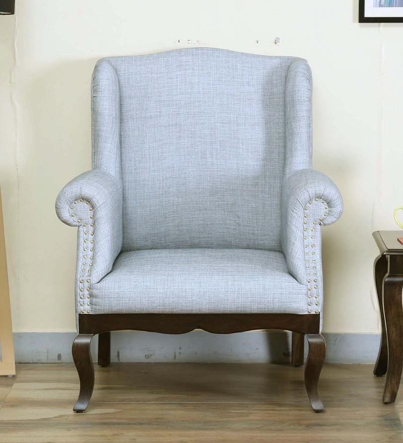 Anne Wing Chair in Warm Chestnut Finish by Amberville