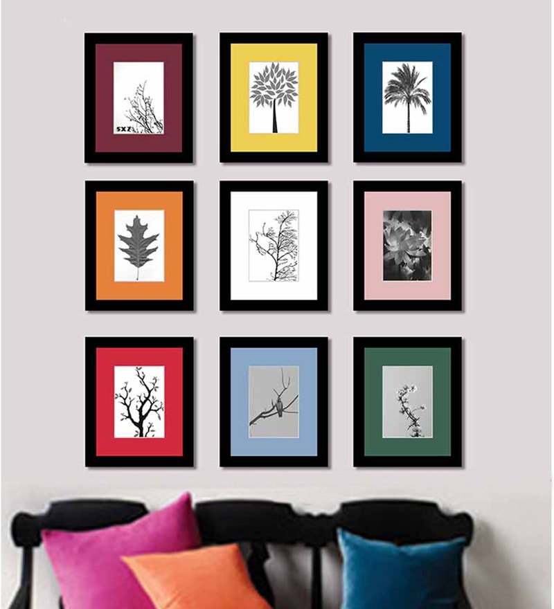 Collage Picture Black Matte Photo Frame by Art Street
