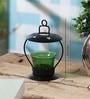 Green Glass Votive Tea Light Holder by Anasa
