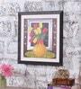 Angel Decor Canvas & MDF 18 x 1 x 18 Inch Beaver Framed Digital Art Print
