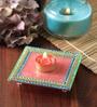 Anisha Creatives Multicolour Acrylic Chowki