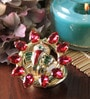 Anisha Creatives Multicolour Metal LED Diya
