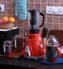 Anjalimix Spectra 1000W Red Mixer Grinder With 4 Jars