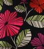 Anna Simona Black Cotton 18 x 18 Inch Cushion Cover