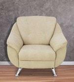 Apollo One Seater Sofa in Beige Colour