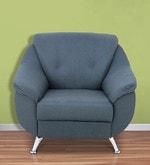 Apollo One Seater Sofa in Slate Black Colour