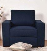 Apollo Suberb One Seater Sofa in Dark Blue Colour
