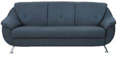 Apollo Three Seater Sofa in Slate Black Colour