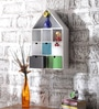 Ramon Contemporary Wall Shelf in Multicolour by CasaCraft