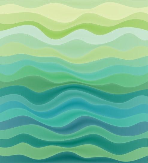 Print A Wallpaper Aqua Water Waves Wallpaper