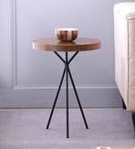 Arezzo End Table in Natural Finish