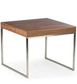 Arlington Square Coffee Table in Brown Colour