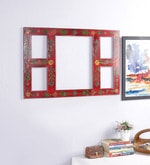 Multicolour Solid Wood Collage Photo Frame