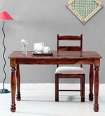 Arundel Four Seater Dining Table in Provincial Teak Finish
