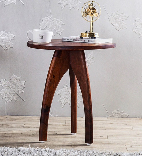 Arbor End Table In Honey Oak Finish By Woodsworth