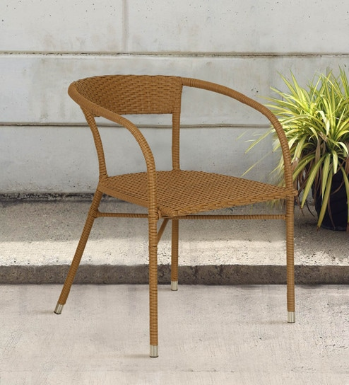 Magnificent Outdoor Chair In Brown Colour By Ventura Creativecarmelina Interior Chair Design Creativecarmelinacom