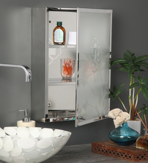Buy Chrome Stainless Steel Bathroom Cabinet by Arrow Online ...